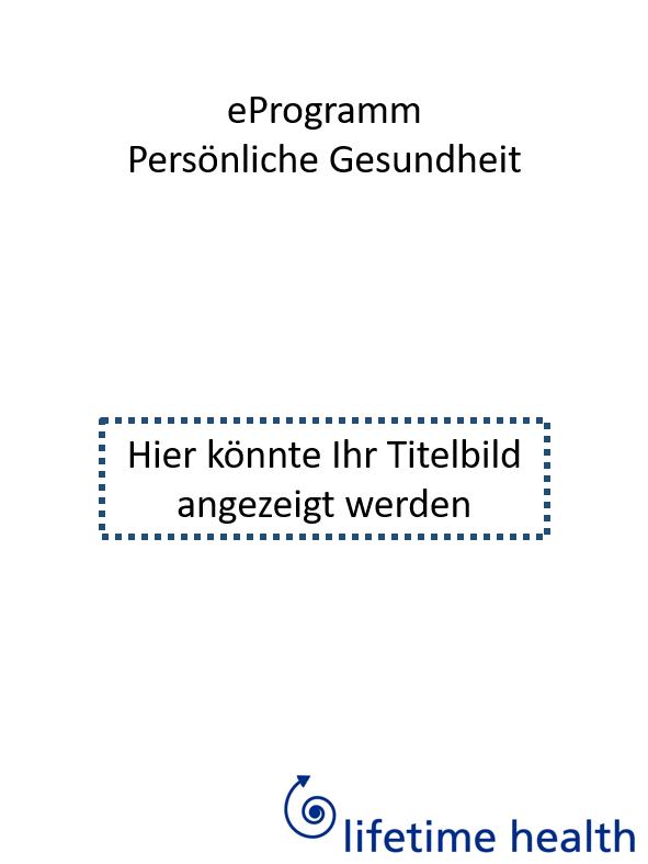 Titelbild für eProgramm persönliche Gesundheit